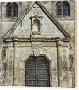 Mission Concepcion Entrance Wood Print