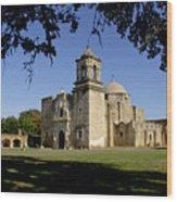 Mission San Jose Y San Miguel De Aguayo. Church. Wood Print