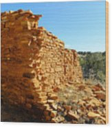 Mission Cornerstone Wood Print