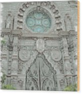 Mission Inn Chapel Door Wood Print