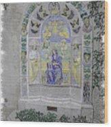 Mission Inn Chapel Wood Print