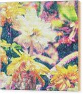 Mission Plants Wood Print