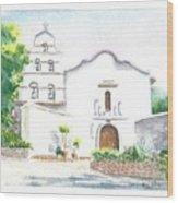 Mission San Diego Wood Print