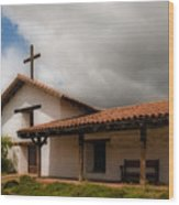 Mission San Francisco De Solano Wood Print by Mick Burkey