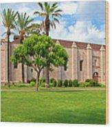 Mission San Gabriel Arcangel, San Gabriel, California Wood Print