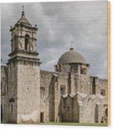 Mission San Jose - 1352 Wood Print