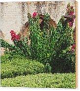 Mission San Jose' Flora Beauty Wood Print
