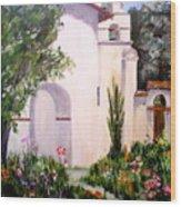 Mission San Juan Batista Wood Print