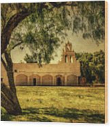 Mission San Juan Church Wood Print