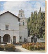 Mission San Juan Wood Print