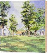 Mission San Luis Wood Print