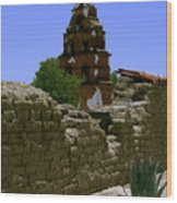 Mission San Miguel Bells 2 Wood Print