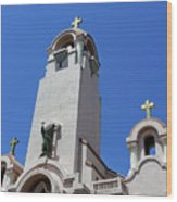 Mission San Rafael Arcangel Wood Print