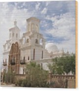 Mission San Xavier Wood Print