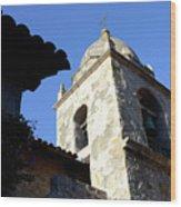 Mission Tower Wood Print