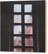 Mission Window Wood Print