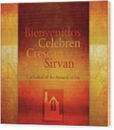 Mission Words, Spanish Wood Print