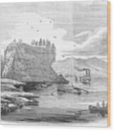 Mississippi River, 1854 Wood Print