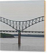 Mississippi River Wood Print