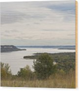 Mississippi River Lake Pepin 10 Wood Print