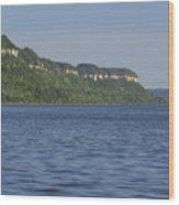 Mississippi River Lake Pepin 4 Wood Print