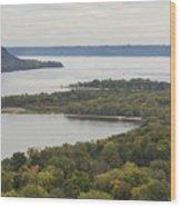 Mississippi River Lake Pepin 7 Wood Print