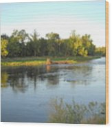 Mississippi River Lovely Dawn Light Wood Print