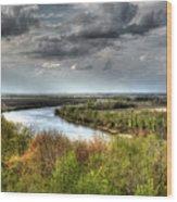 Missouri River Wood Print