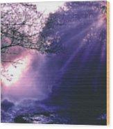 Mist Of Ireland Wood Print