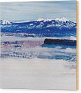 Mist Over Canyonlands I Wood Print