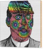 Mister Mollusk Wood Print