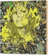 Mistress of Autumn Wood Print