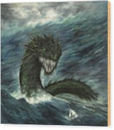 Mistress Of The Sea Wood Print