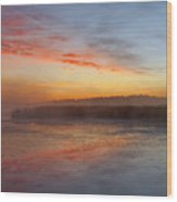 Misty Dawn #2 Wood Print
