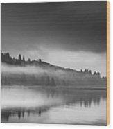 Misty Enchantment Wood Print