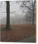 Misty Wood Print