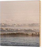 Misty Mist Wood Print