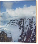 Misty Mountain Flat Top Wood Print