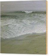 Misty Seas Wood Print