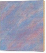 Misty Skies Wood Print