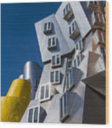 Mit Stata Center Cambridge Ma Kendall Square M.i.t. Wood Print