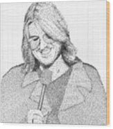 Mitch Hedberg In His Own Jokes Wood Print