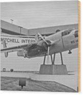 Mitchell International Airport Wood Print