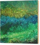 Mixed Media 02 By Rafi Talby Wood Print