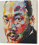 MLK Wood Print