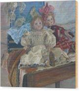 Mlle. Pinchon Wood Print