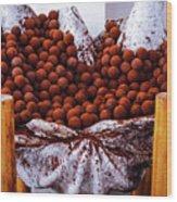 Mmmm Chocolate Wood Print