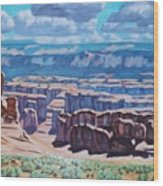 Arches National Park,moab, Utah Wood Print