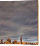 Moab Dipper Wood Print