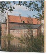 Moated Castle Herten II Wood Print